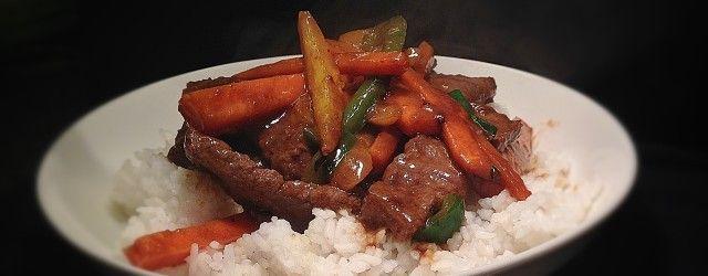30-minuten of minder: Pittige Biefstuk uit de Wok