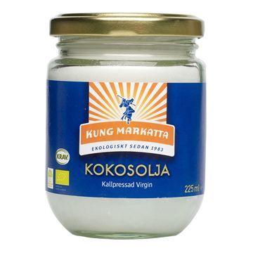 Coconutoil SPF7 coldpressed Kung Markatta Kokosolja virgin 225ml