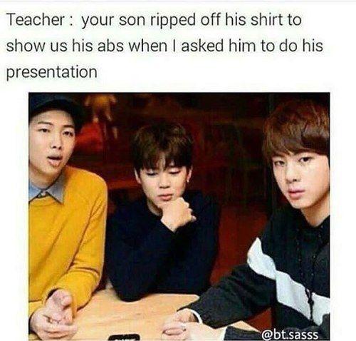 Image de funny, jin, and meme