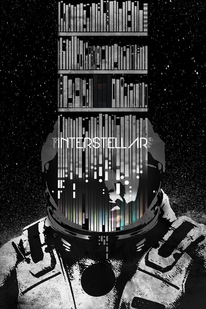 Only People Who Have Seen INTERSTELLAR Can Decipher These Posters by artist Edgar Ascensão — GeekTyrant