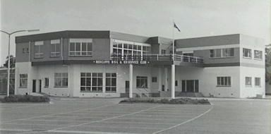 Photo shows the RSL building which had just been refurbished.