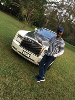 Pastor Chris Okotie Poses With His Rolls Royce Car(Photos)