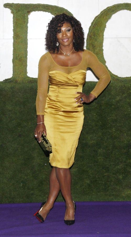 Serena at the Wimbledon Champions Ball...BEAUTIFUL