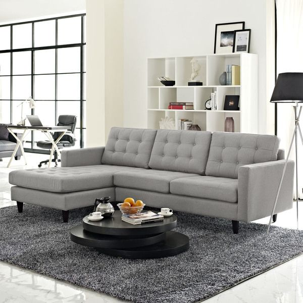 Contemporary 1 500 Empress Left Arm Sectional Sofa Photo -  Sectional Fabric sofas Photo