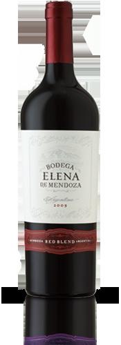 Bodega Elena De Mendoze Argentina red blend (Malbec 62%, Syrah 21%, Bonarda 17&) 2010 Vintage and $7.99.  Easy drinking red wine not to dry lots of big berry fruit.
