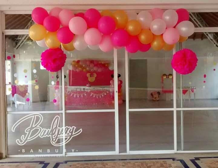 Minnie party, la entrada