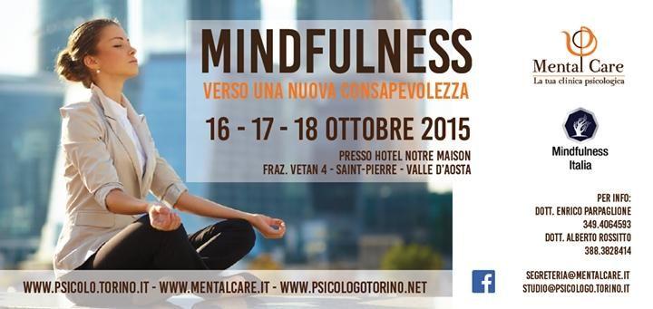 Non dimenticatevi del nostro ritiro di #mindfulness dal 16 al 18 ottobre Vi aspettiamo
