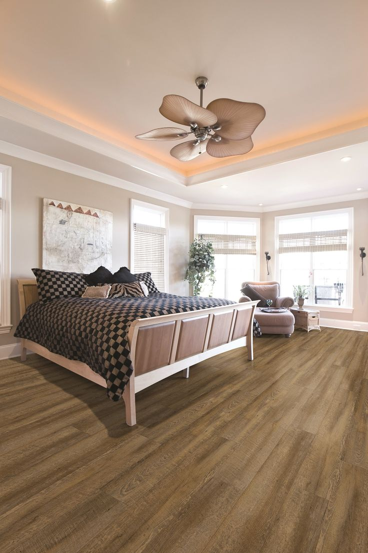 Coretec Plus Xl Catalina Oak Modern Bedroom Large Open Bedroom Lvt Planks Coretec