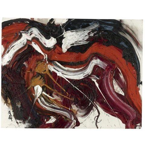 Kazuo Shiraga, 'Kaku Rou,' 1963, Axel Vervoordt Gallery