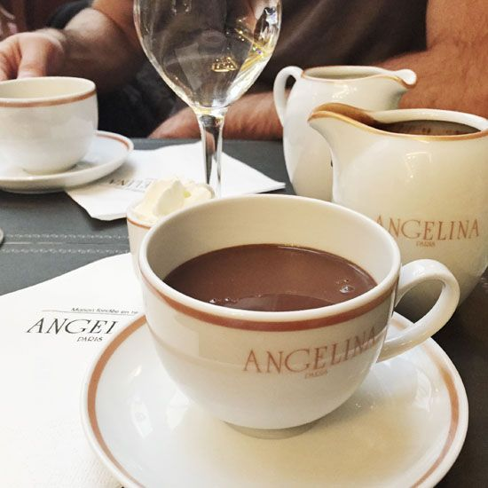 Angelina Paris: the richest hot chocolate ever
