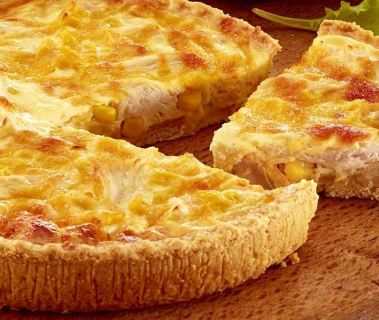 Chicken and Sweetcorn Quiche | ASDA Recipes
