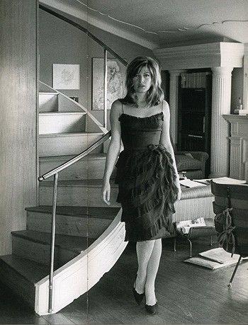 Portrait of Monica Vitti for La notte directed by Michelangelo Antonioni, 1961