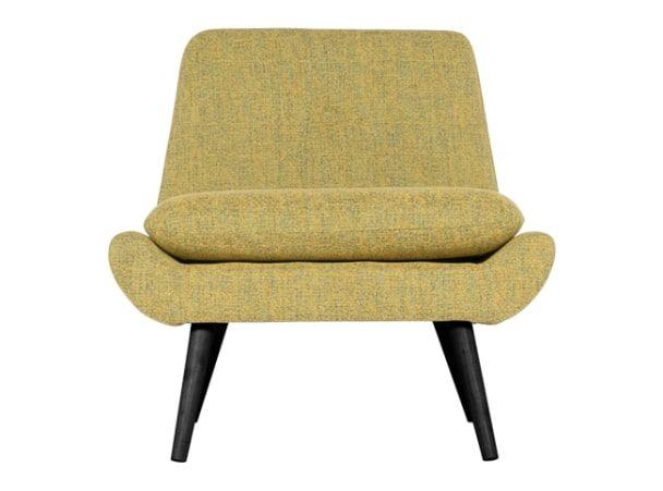 Jonny fauteuil, vintage geel