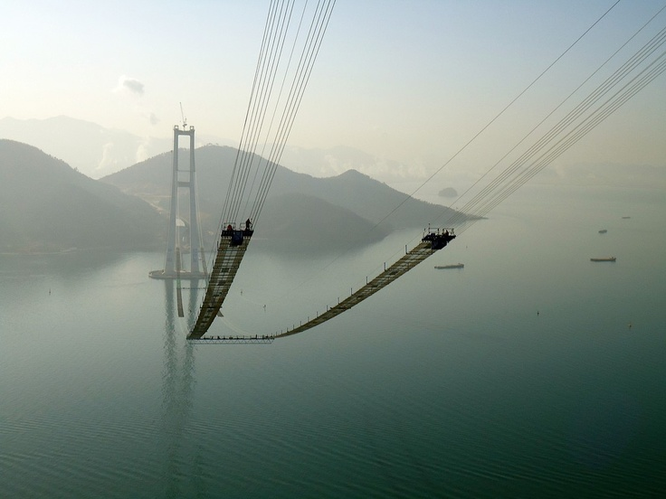 Yi Sun-sin Bridge, South Korea.
