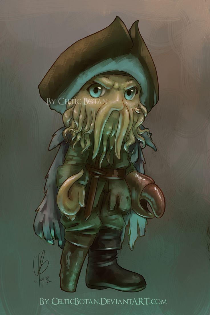 Chibi Davy Jones