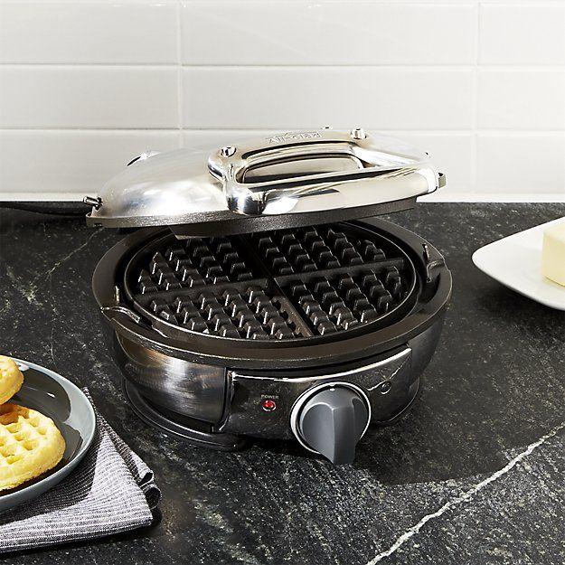 All-Clad ® Waffle Maker | Crate and Barrel
