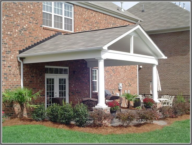 44 best images about patio roof designs on pinterest for Gable patio designs