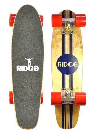 Ridge 22 Quot Original Wooden Mini Maple Cruiser Complete