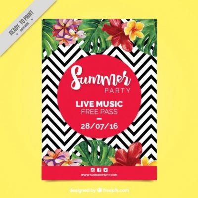 팜플렛-포스터-비즈니스-음악-전단지-파티-vector