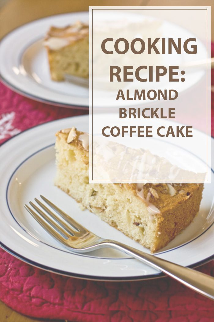 Almond brickle coffee cake cooking recipe is a great way to start your morning with a hot coffee. Also it's a cake so you can serve it as a dessert too!! #cooking #recipe #cake | www.housewiveshobbies.com |