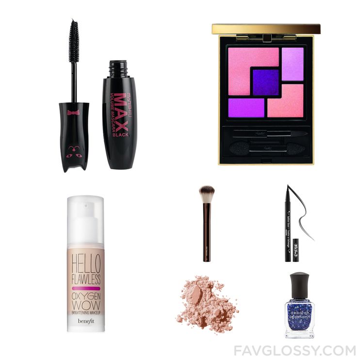 Cosmetics Mix & Match Including Mascara Palette Eyeshadow Benefit Foundation And Blush Brush From November 2016 #beauty #makeup