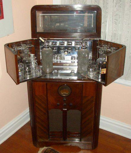 Stone Vintage Radio Museum - Antique Radios, Wireless, Crystal Sets, Tubes,  and - 12 Best Liquor Cabinet Images On Pinterest Antique Radio, Bar