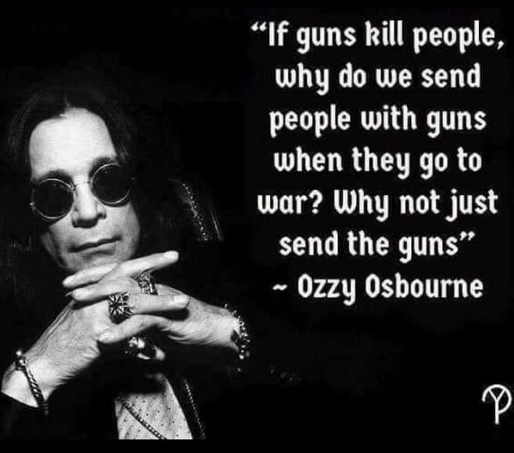 Guns are only as bad or as good as those that wield them.