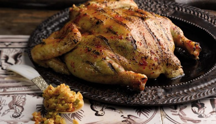 Peri-fectly Grilled Portuguese BBQ Chicken