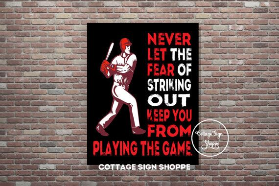 Baseball Poster. Sports Poster Instant by CottageArtShoppe on Etsy