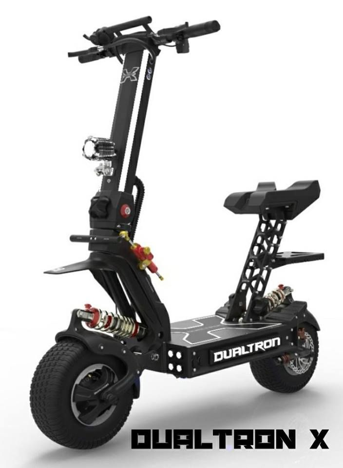 Minimotors Dualtron X Dual Motors 6720w Electric Scooter Speed