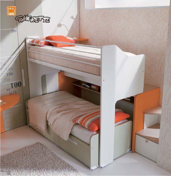 Oltre 25 fantastiche idee su letto a castello su pinterest for Letti a castello per 3 bambini