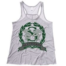 Slytherin Crest Para Mujer flowy Tanque