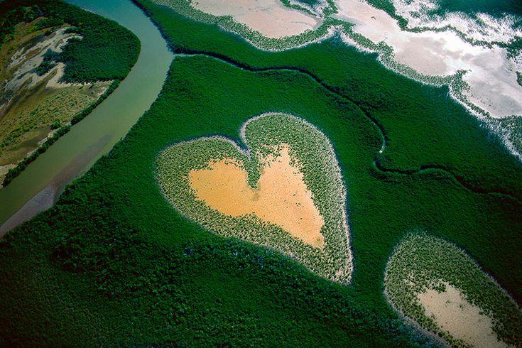 Corazón de Voh AdictaMente: Fotos aéreas, de impresionante belleza, alrededor del mundo.