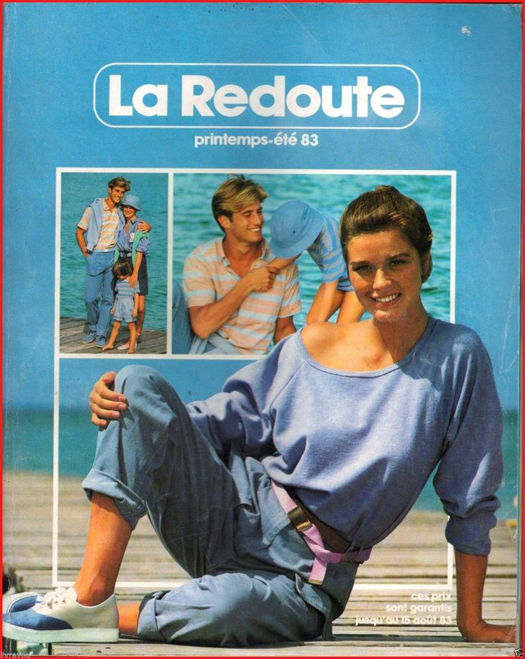▬► Catalogue LA Redoute Printemps ÉTÉ 1983 Mode Fashion Vintage | eBay