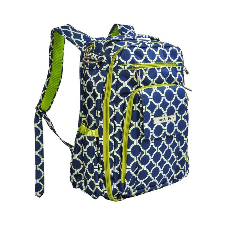 Ju Ju Be Be Right Back Diaper Bag Backpack - Royal Envy - Designer Diaper Bags at Hayneedle