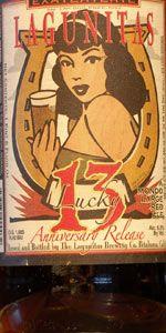 Lagunitas Lucky 13 Mondo Large Red Ale, Lagunitas Brewing Company, California-American Amber/Red Ale 8.56%ABV