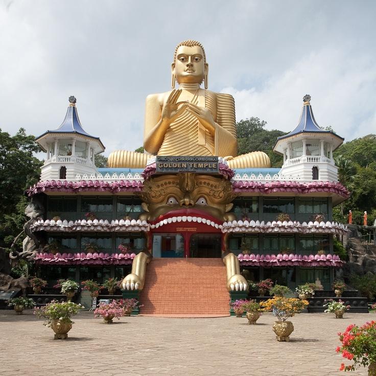 Golden Buddha museum, Dambulla | Sri Lanka