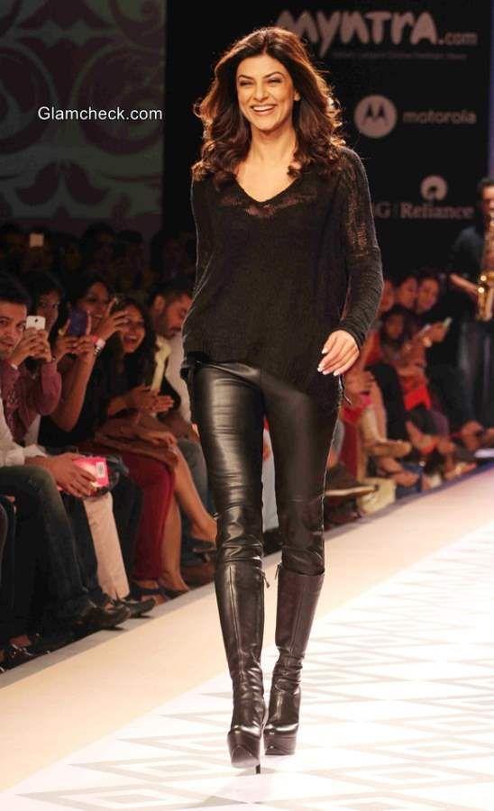 Sushmita Sen at the Myntra Fashion Weekend. #sushmitasen http://www.manchimovies.com