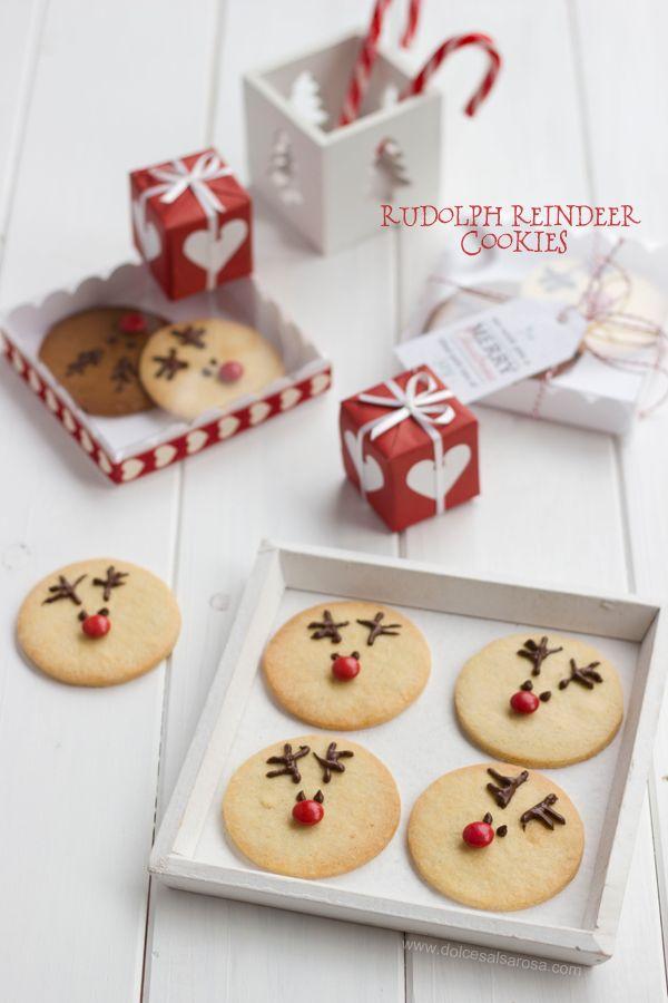 Dolce Salsarosa: Rudolph Reindeer cookies