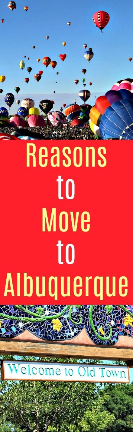 Reasons to Move to Albuquerque: With low pollution rates, affordable housing and sunny weather, there is no reason Albuquerque should be discounted when deciding where to live.  Here are just a few reasons to make the move to Albuquerque. #Newmexico #home #house #moving #relocating #Albuquerque #fitness #cities