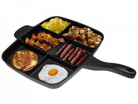 MasterPan | Sectioned Frying Pan