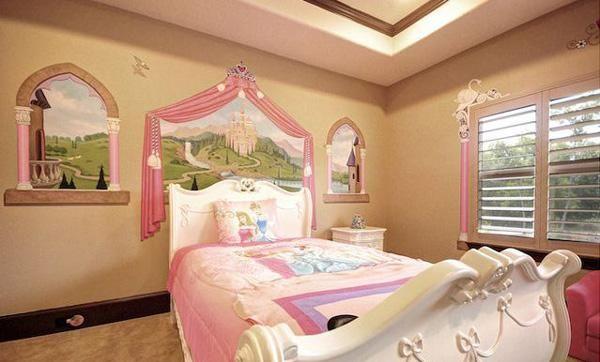 warna kamar tidur princes syarini credit : http://goo.gl/sJXJVf