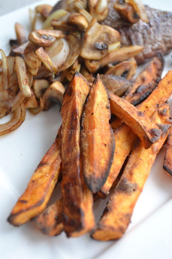 Super Healthy Sunday: Geroosterde zoete aardappelfrietjes - OhMyFoodness