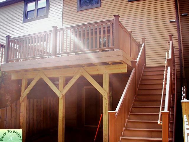 Townhouse Deck Designs Pa Deck Builders Contractors