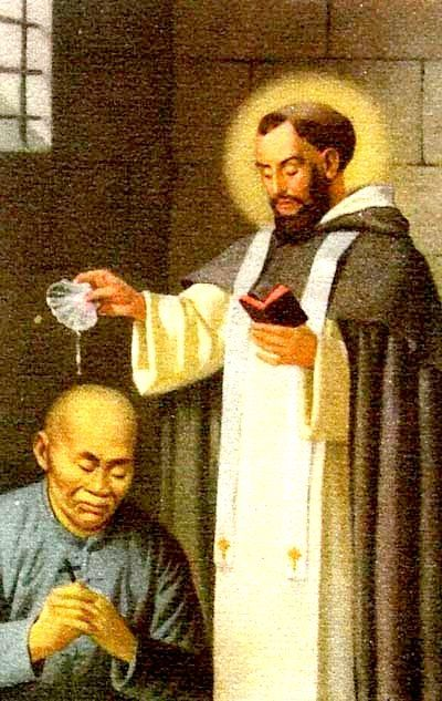Feast of: St. Francisco Fernandez de Capillas (1607-1648) Born in Baquerin de Campos, Palencia, Spain, he entered the Dominican Order at the age of 17 and while still a deacon was sent to the Philippines to do missionary work. He arrived in Manila in February 1631. Shortly ...(Read the rest of his story here:) https://www.facebook.com/St.Eugene.OMI/?ref=hl