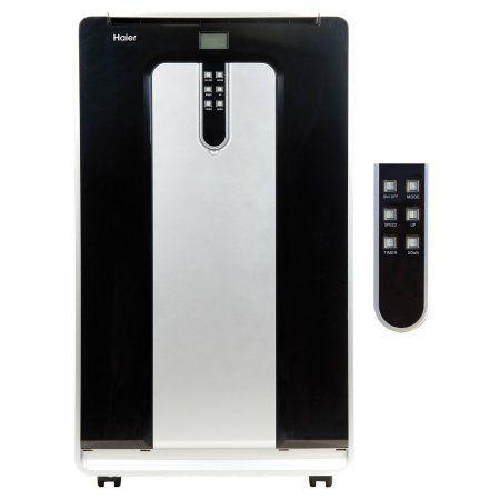 Haier 14,000 BTU Portable Air Conditioner with Dual-Hose, Silver