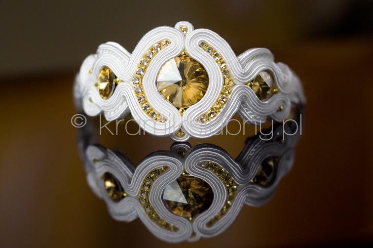 wedding soutache bracelet