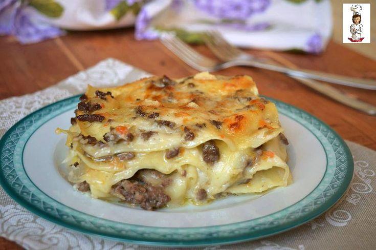 Lasagne+con+ragù+in+bianco