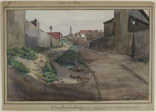 Le champ Pascaud ou Passereau, future avenue de la Convention | Paris Musées