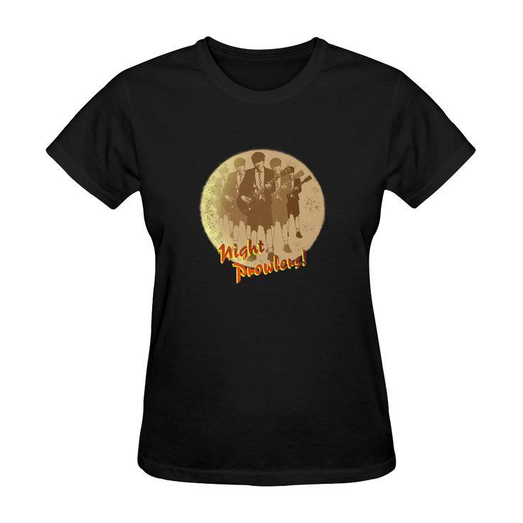 Night Prowlers! Womens tshirt  #cooltees #acdcfans #angus #nightprowler #highvoltage #rockchick #rockfashion #rocktees #backinblack